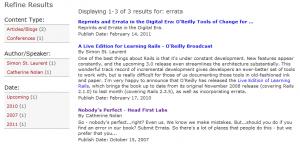 bunk oreilly.com errata search results